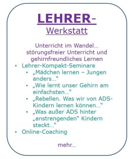 Lehrer-Werkstatt